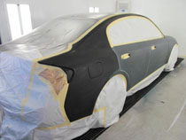 the first coat of paint