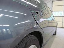 repaired car fender