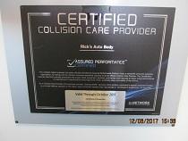 collision care certificate